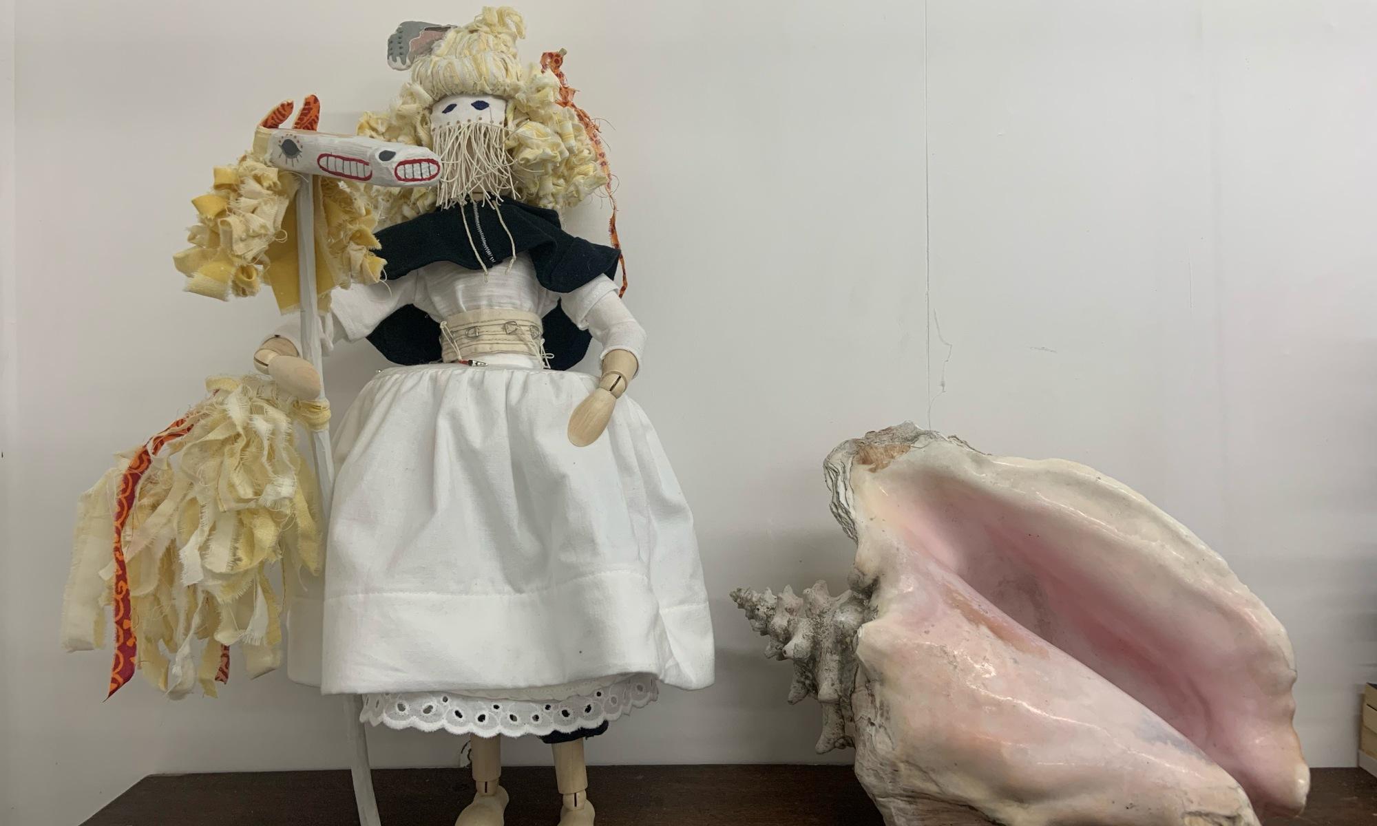 Maquette of Rebecca costume